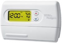 White Roger Thermostat